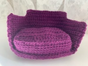 Complete base of crochet chair