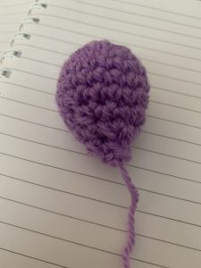 Little balloons crochet pattern