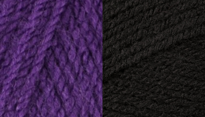 Yarn used for dolls Halloween witch costume crochet pattern